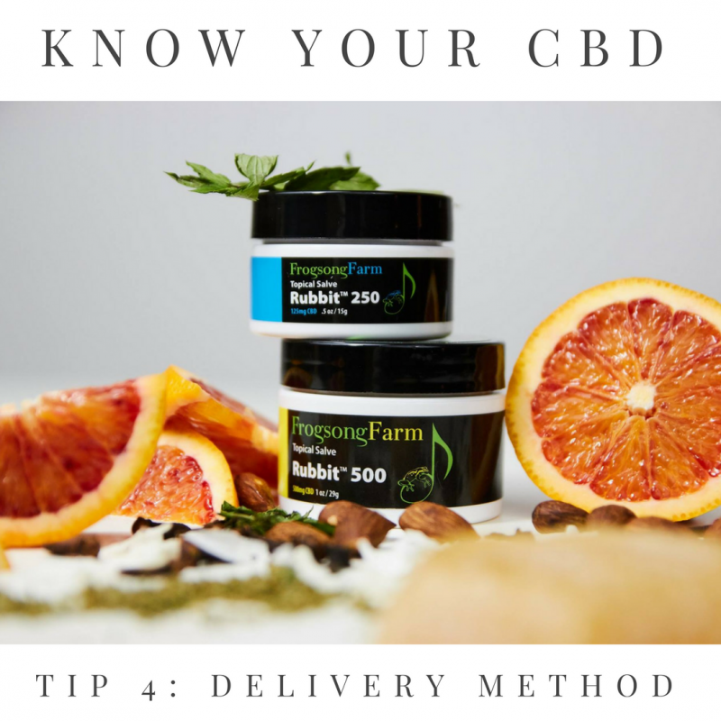KNOW YOUR CBD: Helpful Tips for Beginners | Frogsong Farm
