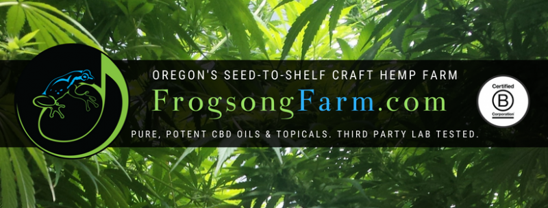 August Growing Update | Frogsong Farm Oregon CBD For People & Planet