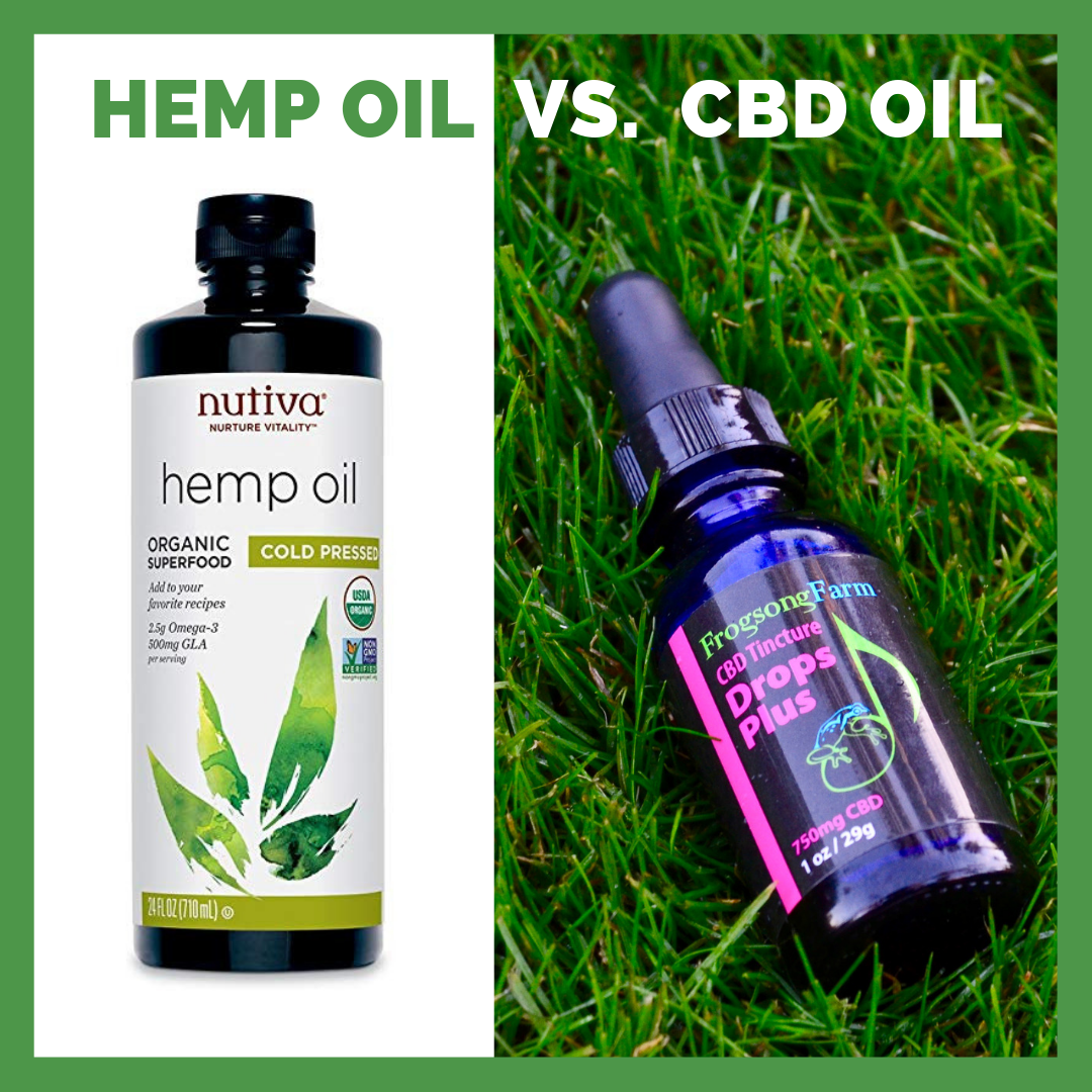 Difference between hemp and cbd oil